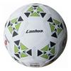 Мяч футбольный Soccer бело-зеленый №4 - фото 1