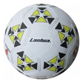 Мяч футбольный Soccer бело-желтый №4