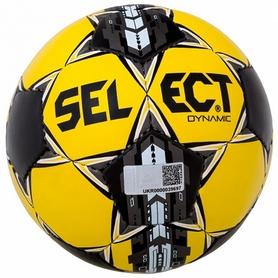 Мяч футбольный Select Dynamic желтый № 5