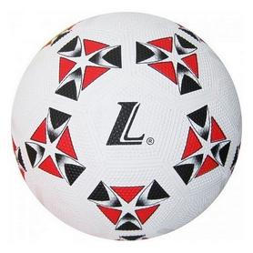 Мяч футбольный Soccer бело-красный №4