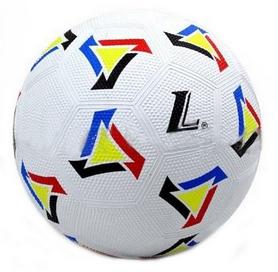 Мяч футбольный Soccer бело-желтый №5
