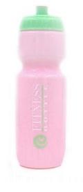 Бутылка для воды спортивная Tritan Fitness Bottle розово-мятная, 750 мл