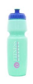 Бутылка для воды спортивная Tritan Fitness Bottle салатово-синяя, 750 мл