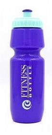 Бутылка для воды спортивная Tritan Fitness Bottle фиолетово-мятная, 750 мл