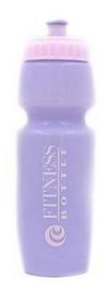 Бутылка для воды спортивная Tritan Fitness Bottle фиолетово-розовая, 750 мл