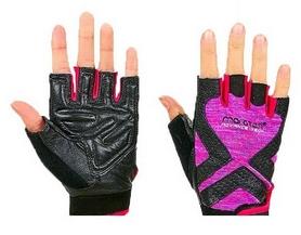 Перчатки для фитнеса женские Maraton черно-фиолетовые