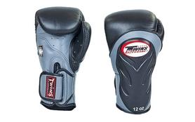 Перчатки боксерские Twins BGVL-6-BK черно-серые