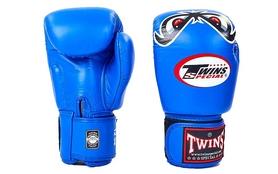 Перчатки боксерские Twins FBGV-25-BU синие