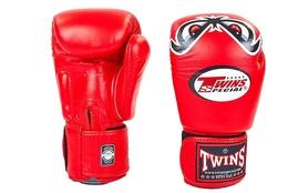 Перчатки боксерские Twins FBGV-25-RD красные