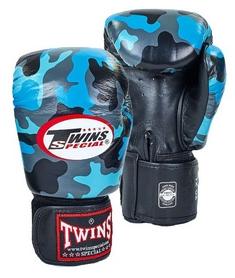 Перчатки боксерские Twins FBGV-NB синие
