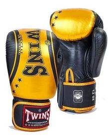 Перчатки боксерские Twins FBGV-TW4-BKG золотые