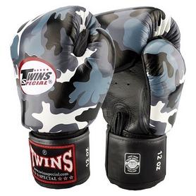Перчатки боксерские кожаные Twins FBGV-UG камуфляжные