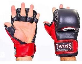 Перчатки для ММА Twins GGL-1-RD черно-красный
