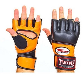 Перчатки для ММА Twins GGL-4-OR оранжевые