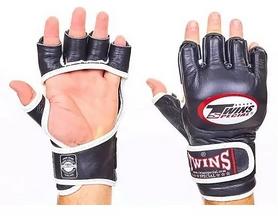 Перчатки для ММА Twins GGL-6-BK черные