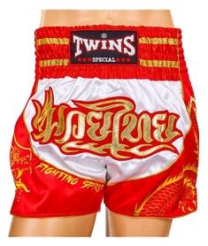 Трусы для тайского бокса Twins TBS-DRAGON-5 красные