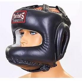 Шлем боксерский с бампером Twins HGL-10-BK черный