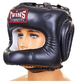 Шлем боксерский с бампером Twins HGL-9-BK черный