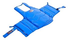 Защита корпуса (жилет) для единоборств Twins BOPL-2-BU синяя