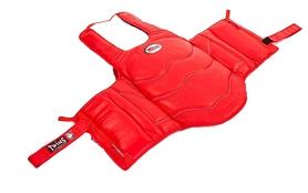 Защита корпуса (жилет) для единоборств Twins BOPL-2-RD красная