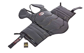 Защита корпуса и ключицы (жилет) для единоборств Twins BOPL-3-BK черная