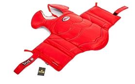 Защита корпуса и ключицы (жилет) для единоборств Twins BOPL-3-RD красная