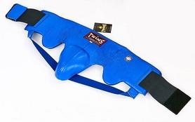 Защита паховая мужская с высоким поясом Twins APL-1-BU синяя - Фото №4