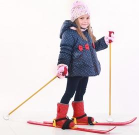 Фото 2 к товару Лыжи детские Snow Pinguin 78 см синие