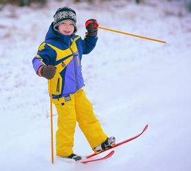Фото 3 к товару Лыжи детские Snow Pinguin 78 см синие