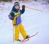 Лыжи детские Snow Pinguin 78 см синие - фото 3