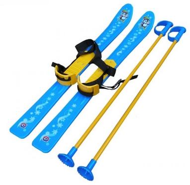 Лыжи детские Snow Pinguin 78 см синие
