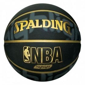 Мяч баскетбольный Spalding Composite Leather NBA Highlight Gold Indoor/Outdoor №7