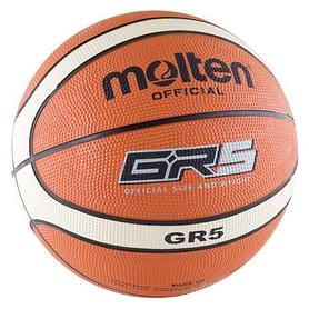 Мяч баскетбольный резиновый Molten №5