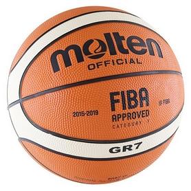 Мяч баскетбольный резиновый Molten №7