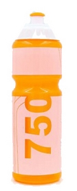 "Бутылка для воды спортивная Tritan ""I Love Sport"" FI-5960-3 750 мл оранжевая"