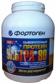Распродажа*! Протеины Фортоген Ультра 80 Сывороточный 2 кг