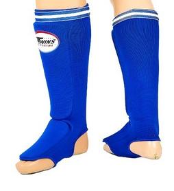 Защита для голени и стопы чулочного типа Twins SGN-1-BU синяя