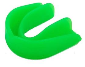 Капа боксерская односторонняя (одночелюстная) в футляре Twins MG-1-GN зеленая