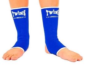 Суппорт голеностопа эластичный Twins AG-BU синий