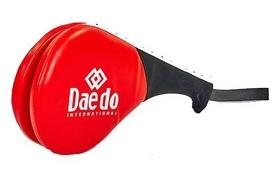 Ракетка для тхэквондо двойная Daedo BO-5489-R красная