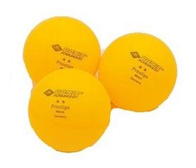 Набор мячей для настольного тенниса 3 штуки Donic МТ-608328 Prestige 2star