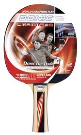 Ракетка для настольного тенниса Donic Level 600 MT-733235 Top Team