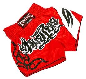 Трусы для тайского бокса Twins T-155 красные