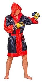 Халат боксерский с капюшоном Twins FTR-3 красный