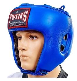 Шлем боксерский с бампером Twins HGL-BU синий