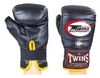 Распродажа*! Перчатки снарядные кожаные Twins TBGL-1F-BK черные - XL