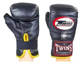Перчатки снарядные кожаные Twins TBGL-1F-BK черные
