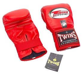 Перчатки снарядные кожаные Twins TBGL-1H-RD красные