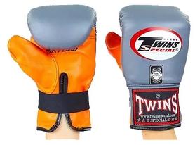Перчатки снарядные кожаные Twins TBGL-6F-GR оранжево-серые