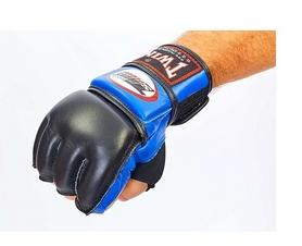 Перчатки для ММА Twins GGL-4B голубые